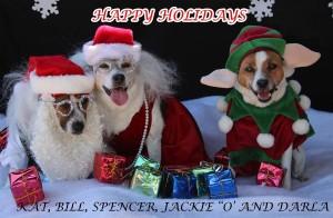 Christmas 2014 Kat's Dogs