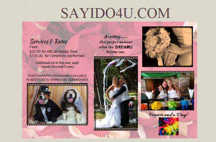 Page from Web Site